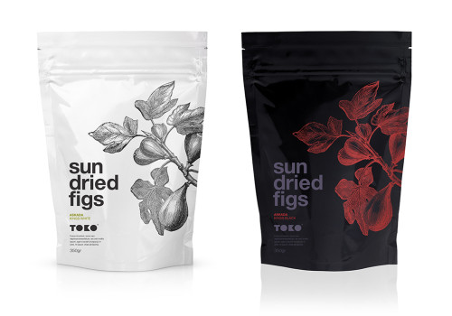 Premium Dried Figs Concept Packaging